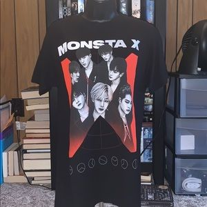 Hot Topic Monsta X Shirt NWT